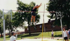 Michael Sayers - pole vault.
