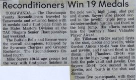 Reconditioners Win 19 Medals. Circa 1986.