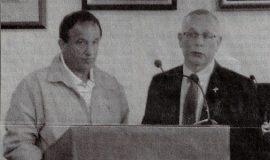 Tramuta Honored. October 11, 2012.