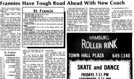 Frannies Have Tough Road Ahead With New Coach. December 3, 1987.