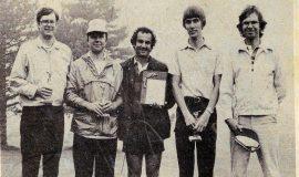 FSUC Golfers. 1981.
