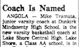 Coach Is Named. August 24, 1968