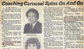 Coaching Carousel Spins On And On. 1987
