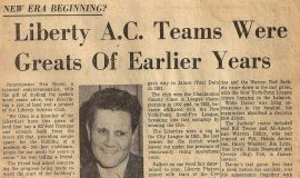Liberty A.C. Teams Were Greats Of Earlier Years.
