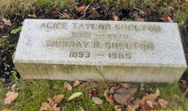 Murray Shelton grave marker.