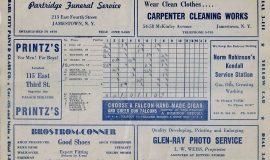 1944 scorecard