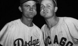 Don Zimmer and Nellie Fox