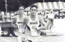 Nolan Swanson running for Wake Forest in 1996-97.