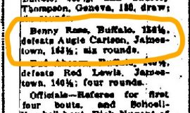 Buffalo Express, February 26,  1924.