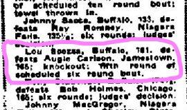Buffalo Morning News, September 15, 1925.