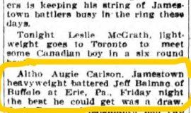 Jamestown Evening Journal, February 7, 1927.