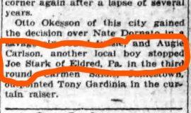 Jamestown Evening Journal, July 6, 1929.