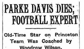 Parke Hill Davis obituary. June 5, 1934.