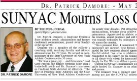 SUNYAC Mourns Loss Of A Legend. Part 1. May 25, 2021.