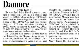 SUNYAC Mourns Loss Of A Legend. Part 2. May 25, 2021.