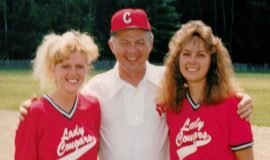 Barb Dalrymple, Paul Cooley, Jerri Carlson 1991.