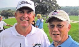Pro Golfer Jay Haas and Paul Cooley.