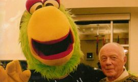 Pirate Parrot and Paul Cooley.