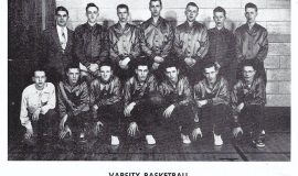 1951 Mayville basketball.
