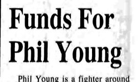 Funds For Phil Young. August 31, 1995.