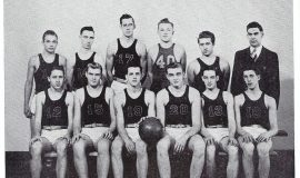 Mayville basketball 1948, Phil Young #40.