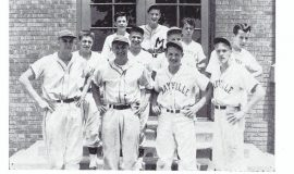 Mayville baseball 1950.