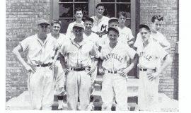Mayville baseball 1950.