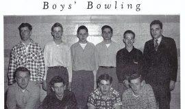 Mayville bowling 1951.