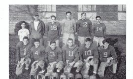 Mayville football 1949, Phil Young #2.