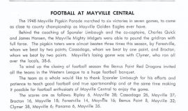 Mayville football 1949.