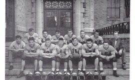 Mayville football 1950, Phil Young #11.