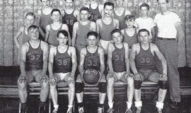 Mayville junior high basketball 1947 - Young 37
