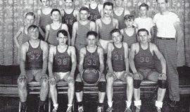 Mayville junior high basketball 1947 - Young 37