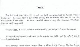 Mayville track 1950.