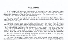 Mayville volleyball 1949.
