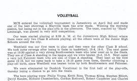 Mayville volleyball 1949.