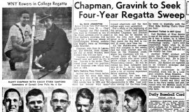 Chapman, Gravink to Seek Four-Year Regatta Sweep. June 20, 1957.