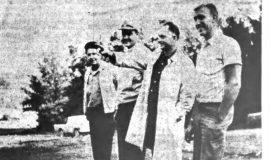 Peek'n Peak Officials Look Over Clymer Area Project. October 3, 1964.
