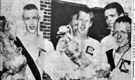 Clymer Youth Called Strokes For Champs. June 25, 1955.