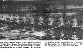 Favored Crew Practices. June 21, 1957.