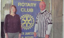 AM Rotary Hears About Chautauqua Sports Hall Of Fame. April 22, 2013.