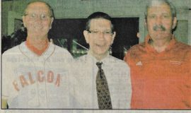 Kiwanis Learns About Local Hall of Fame. May 11, 2012.