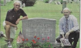 CSHOF Inductee Tour Set At Lake View Cemetery. July 28, 2013.