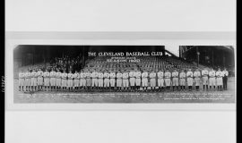 The Cleveland baseball club, American League, season 1920.