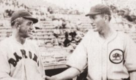 Ray Caldwell vs. Dizzy Dean in Birmingham, September 16, 1931.