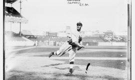 Ray Caldwell, New York AL, at Polo Grounds, NY, 1913.