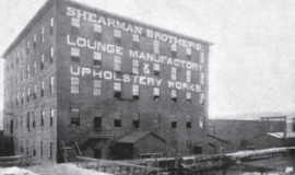 Shearman Brothers furniture factory.