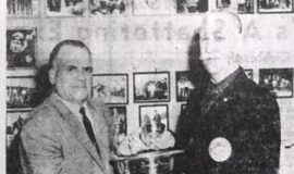 Ex-Jamestown Man Honored. March 27, 1962.