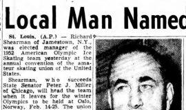 Local Man Named. October 22, 1951.