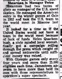 Shearman Is Manager Twice.  November 10, 1956.
